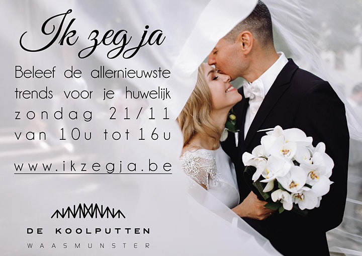 Afbeelding van Huwelijksbeurs - Huwelijksbeleving 'Ik zeg ja'