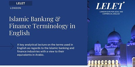 Islamic Banking and Finance Terminology in English tickets