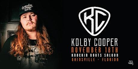 KOLBY COOPER - Gainesville tickets