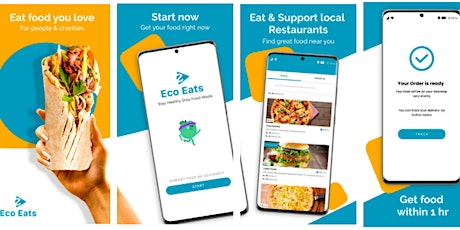 Meet Eco Eats Innovative Sustainable Delivery tickets