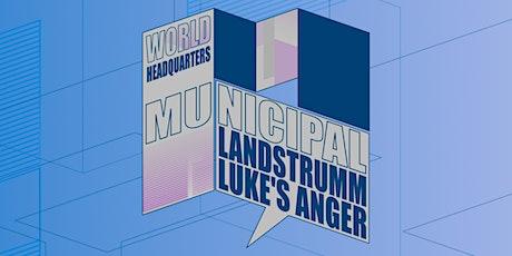 Municipal : Neil Landstrumm + Luke's Anger tickets