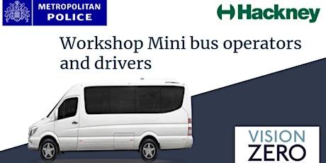 Safer Minibus Workshop (Hackney Council & Metropolitan Police) tickets