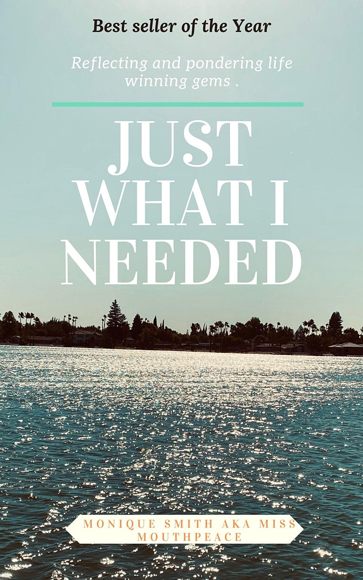 JUST WHAT I NEEDED BOOK  SIGNING LAUNCH PARTY image
