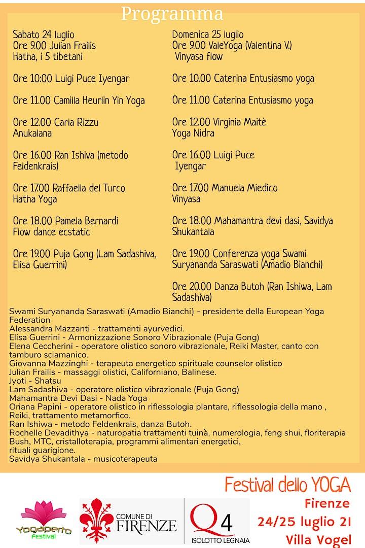Immagine Festival dello yoga Firenze