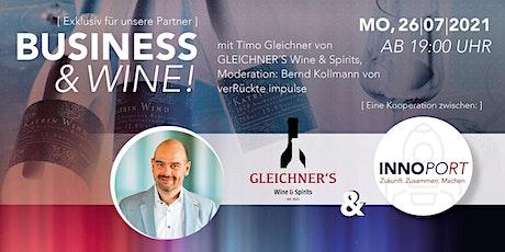 Business & Wine ! Tickets