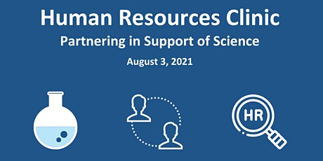 Human Resources Clinic – Partnering in Support of Science tickets