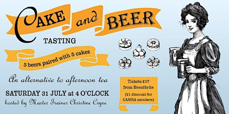 GBBF at Your Local - Beer & Cake Pairing - An alternative to Afternoon Tea tickets