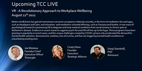 VR - A Revolutionary Approach to Workplace Wellbeing tickets