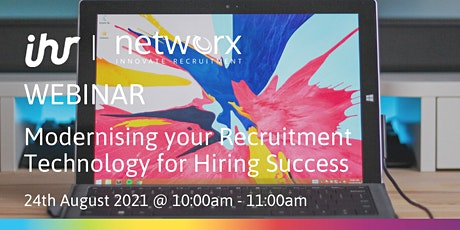 Modernising your Recruitment Technology for Hiring Success tickets