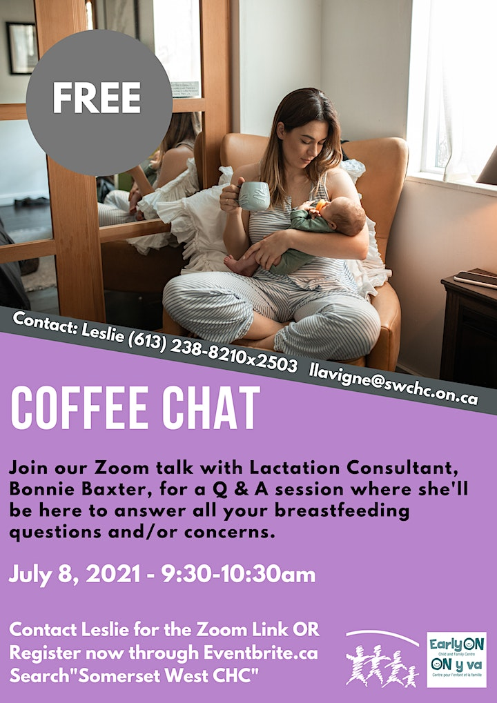 Coffee Chats with Leslie and Speciel Guests! image