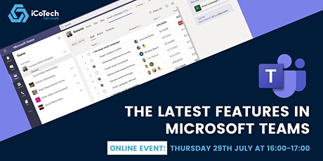 The Latest Features in Microsoft Teams tickets