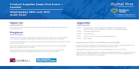 South East London Product Supplier Deep Dive -  Footfall tickets