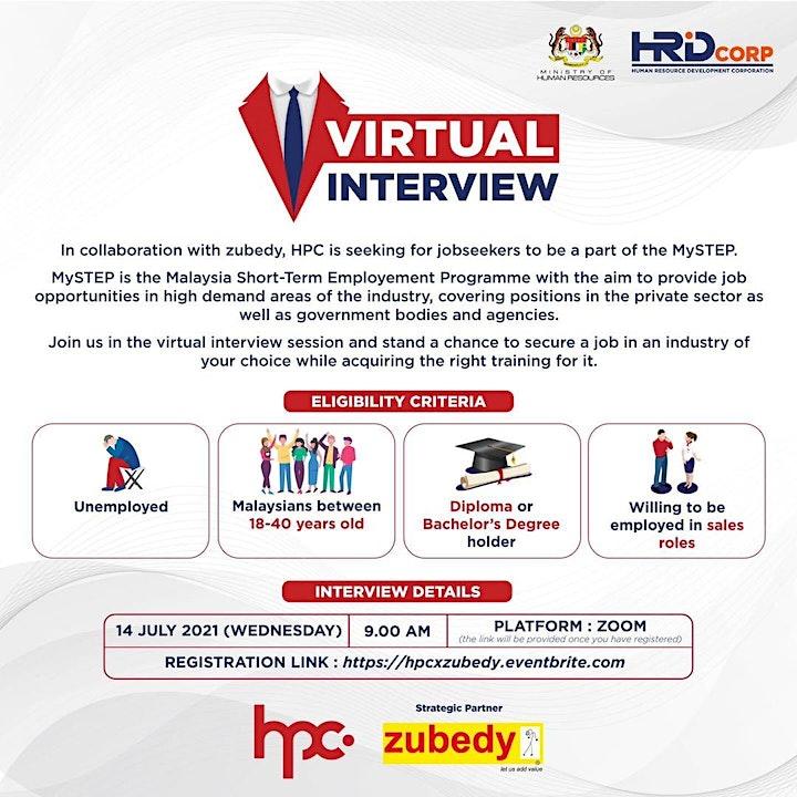 Virtual Interview :  HPC x Zubedy image