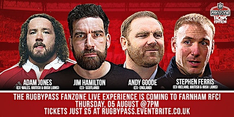 RugbyPass Lions Fanzone Live tickets