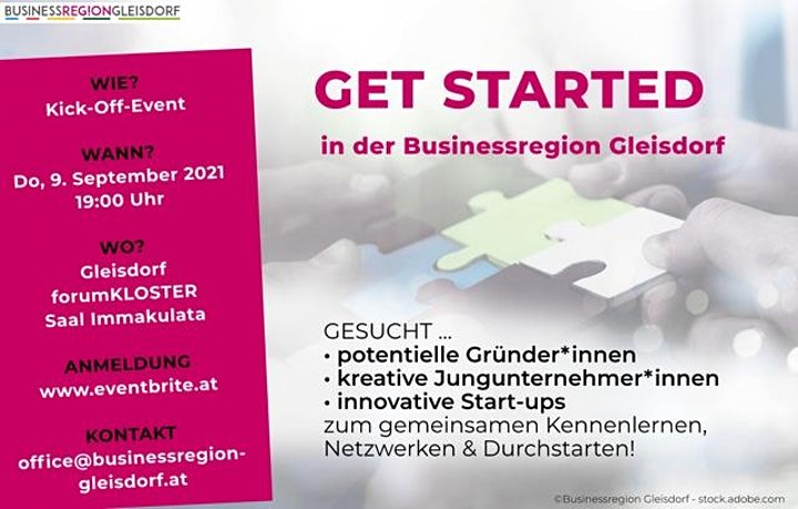 GET STARTED in der Businessregion Gleisdorf: Bild
