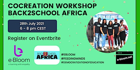 Workshop with Back to School Africa tickets