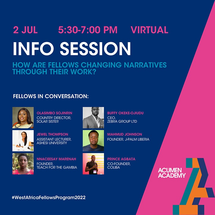 Join a Conversation with West Africa Fellows image