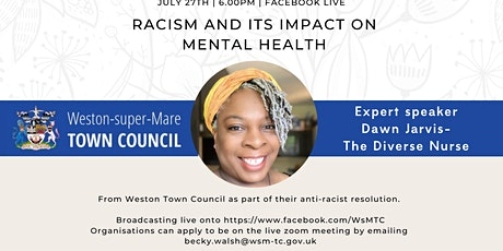 Racism and its Impact on Mental Health – Talk tickets
