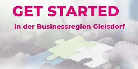 GET STARTED in der Businessregion Gleisdorf tickets