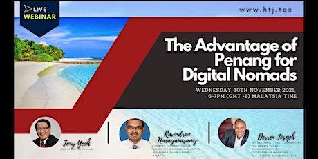 (WEBINAR) The Advantage of Penang for Digital Nomads tickets