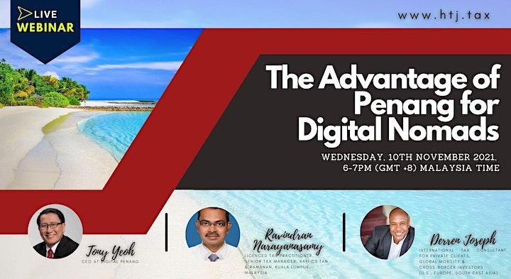 (WEBINAR) The Advantage of Penang for Digital Nomads image