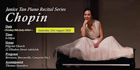 Janice Tan Piano Recital Series - Chopin tickets
