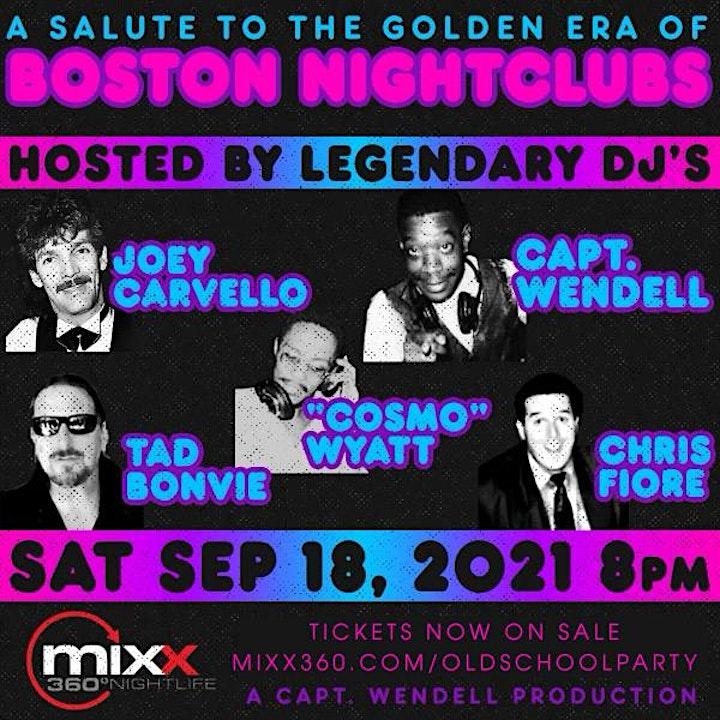 A Salute To The Golden Era Of Boston Nightclubs image