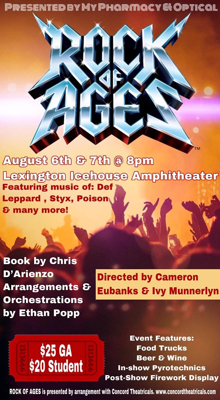 Rock of Ages presented by My Pharmacy & Optical image