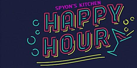 Spyons Kitchen Happy Hour tickets