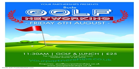 Golf Networking at Bude & North Cornwall Golf Club tickets