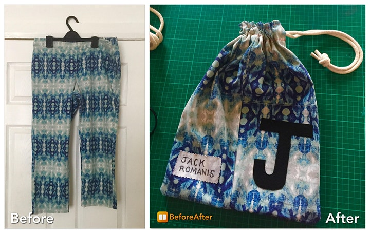 Sew Sisters summer school: Upcycling and alterations workshop image