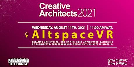 Creative Architects 2021 biglietti