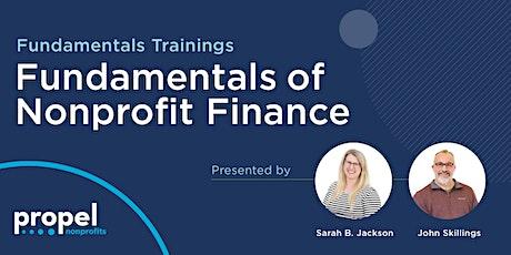 Fundamentals of Nonprofit Finance tickets