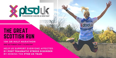 Great Scottish Run - 10km and Half Marathon for PTSD UK tickets