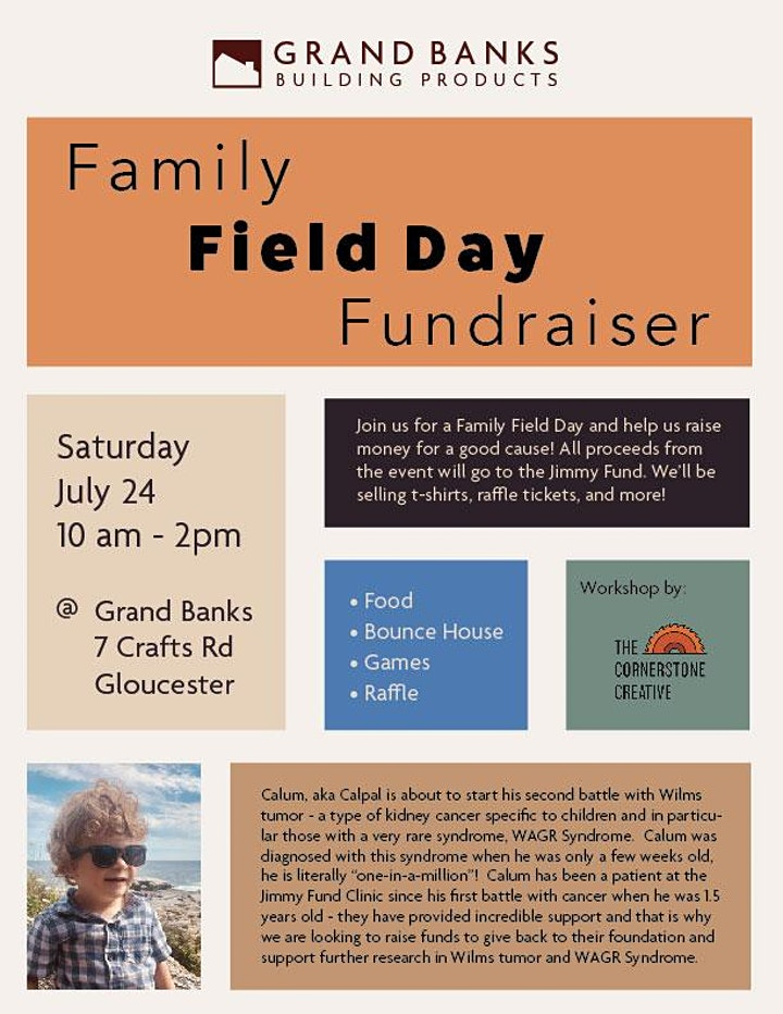Family Field Day Fundraiser image