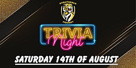 Strath Hockey Club Trivia Night tickets