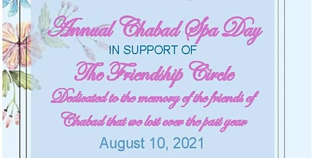 Chabad Spa Day 2021 tickets