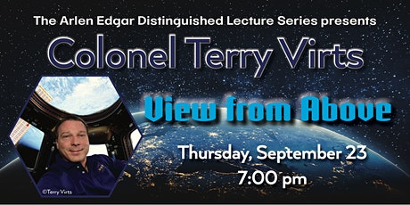 Distinguished Lecture: Colonel Terry Virts tickets