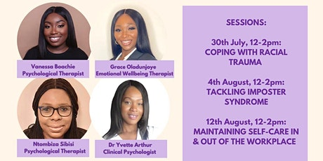 Healing Session: Self-care: Maintaining Wellbeing In & Out of the Workplace tickets
