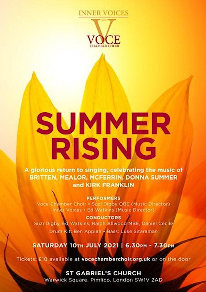Summer Rising - 10 July, 2021, 18:30 image