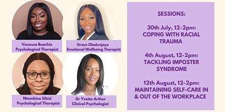 Healing Session: Tackling Imposter Syndrome for Ethnic Minority Staff tickets