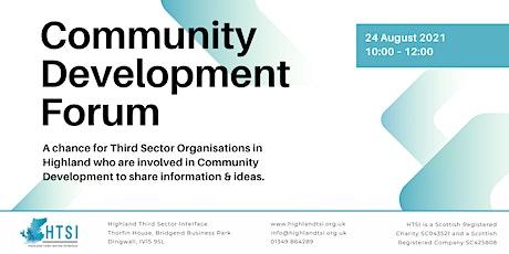 Community  Development Virtual Forum tickets