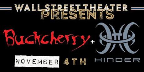 Buckcherry + Hinder tickets