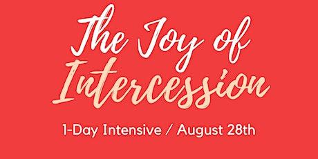 The Joy of Intercession tickets