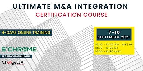 Ultimate M&A Integration Training - September 2021 tickets