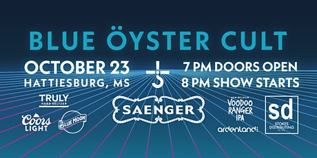 Blue Öyster Cult at The Historic Saenger Theater tickets