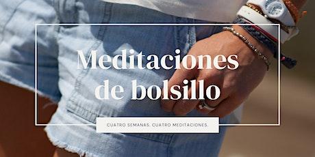 Meditaciones de bolsillo tickets