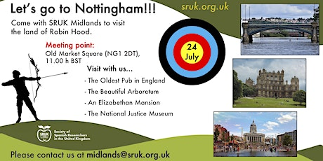 Let's go to Nottingham with SRUK Midlands! tickets