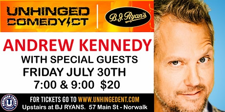 Unhinged Comedy presents: Andrew Kennedy tickets