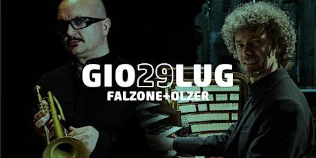 Viaggio Mesotonico | Giovanni Falzone e Roberto Olzer biglietti
